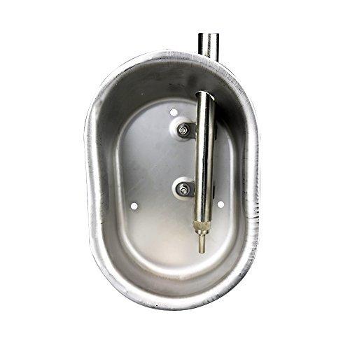 Farm & Ranch 1/5,1 cm en Acier Inoxydable Automatique pour Pig Hog/semer de Bol d'eau avec Mamelon Abreuvoir Petite