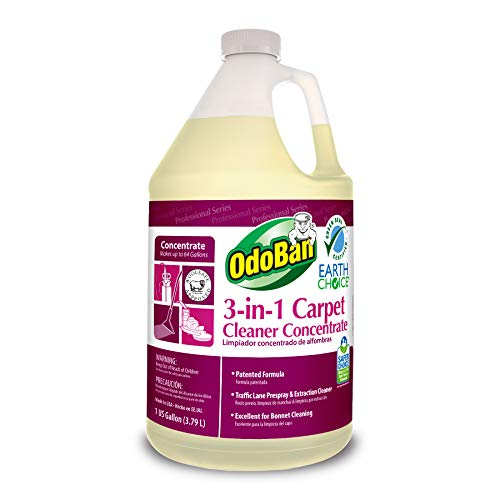 Our #6 Pick is the OdoBan Professional Cleaning 3-in-1 Carpet Cleaner Detergent Concentrate