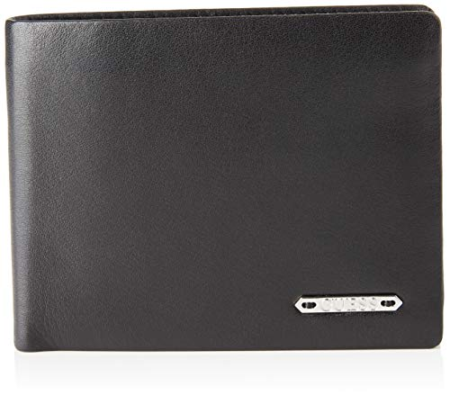 GUESS Tyler Money Clip Card Case,  Cartera. para Hombre,  Negro (Black),  2x8x11 Centimeters (W x H x L)