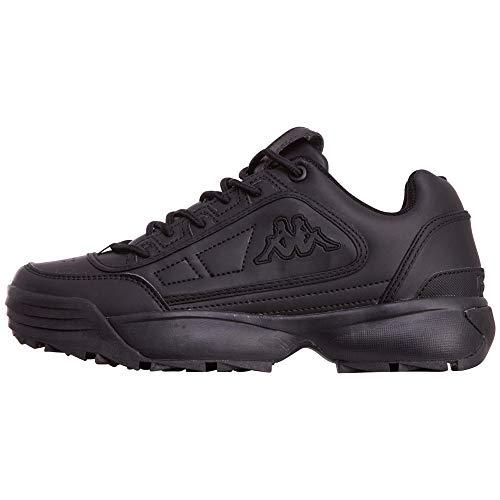 Kappa Unisex-Erwachsene Rave OC Sneaker, Schwarz (Black 1111), 40 EU