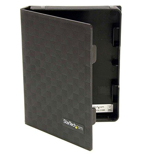 StarTech.com 2.5in Anti-Static Hard Drive Protector Case - Black (3pk) - 2.5 HDD protector black - 2.5 HDD protector (HDDCASE25BK)