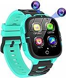 Smartwatch Bambini con 16 Giochi-MP3 Musica, Pedometro Torcia Orologio Intelligente Bambini Telefono-SOS, Fotocamera Video Sveglia Smart Watch Ragazzi e Ragazze Regalo(Include 1GB Micro SD Card)