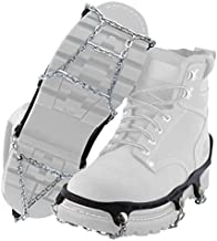 Yaktrax Traction Chains for Walking on Ice and Snow (1 Pair), Large , Black