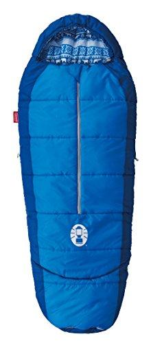 コールマン(Coleman) 寝袋 キッズマミーアジャスタブル C4 使用可能温度4度 マミー型 ネイビー 2000027270