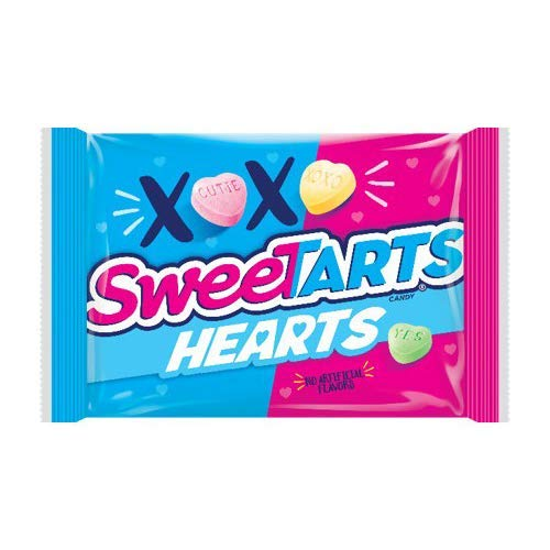 SweeTarts (1) Bag Hearts - Tangy Heart Shaped Candy - Valentine's Day 4.5 oz
