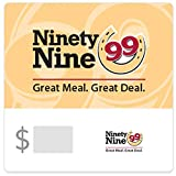 Ninety Nine Restaurants Gift Cards - E-mail Delivery