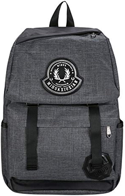 32730505cdd7 Backpack USB Charging Nylon Shoulder Female Models Couple Backpack ...