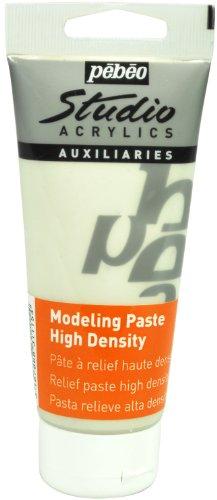 Pébéo Peinture Acryliques 1 Pot de 100 ml Haute densité Blanc