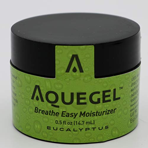 Aquegel Breathe Easy Moisturizer with EUCALYPTUS for Allergies, Dryness, Nose Bleed, CPAP and Oxygen Users