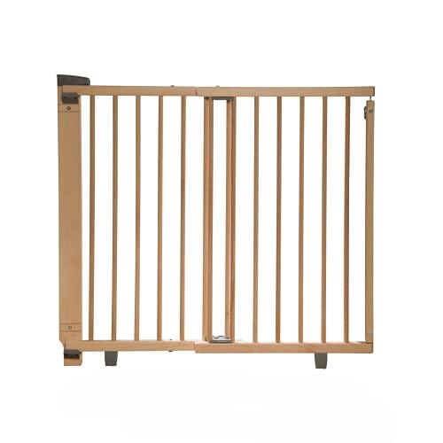 Geuther, EASYLOCK 2734+, Barrière de sécurite pivotante pour porte, Naturel, 93,5 cm