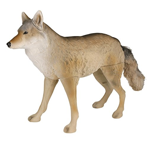 Flambeau Outdoors 5986MS Masters Series Flocked Lone Howler Coyote Decoy