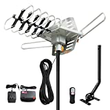 MATIS Outdoor Amplified HD TV Antenna 150 Miles Range-Support 4K 1080p Fire TV Stick and A...