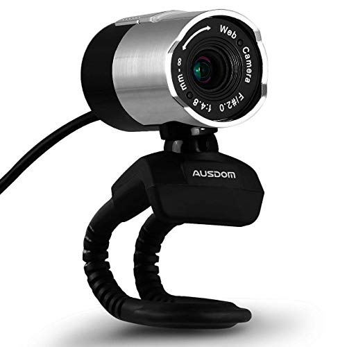 AUSDOM 1080P Webcam,Widescreen Video Calling and Recording, Computer Camera,Desktop or Laptop Webcam
