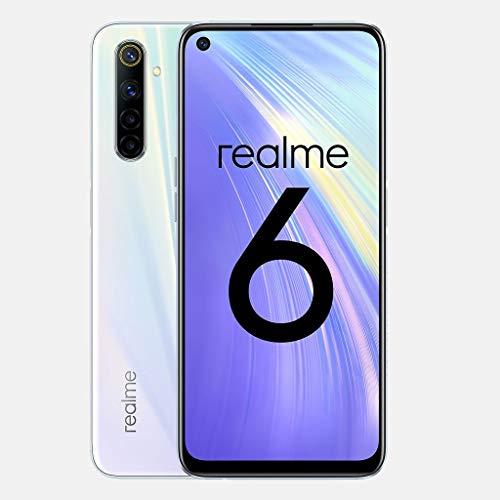 Smartphone Realme 6 128gb 4gb Ram Dual 64MP+8MP+2MP+2MP - Branco