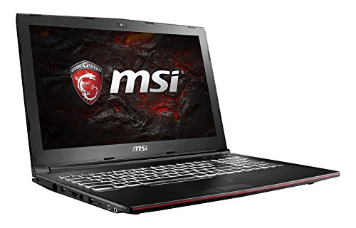 MSI GP62M 7RD-076DE Leopard (39,6 cm/15,6 Zoll) Gaming-Laptop (Intel Core i7-7700HQ, 8GB RAM, 1 TB HDD + 128 GB SSD, Nvidia GeForce GTX 1050, Windows 10 Home) schwarz GP62