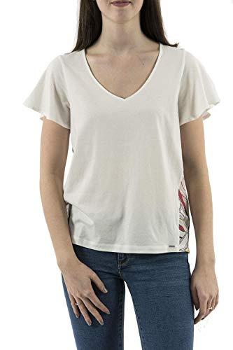Salsa Jeans -Camiseta 121632 0071 Estampado Parte Trasera -Camiseta Manga Corta Mujer (s)