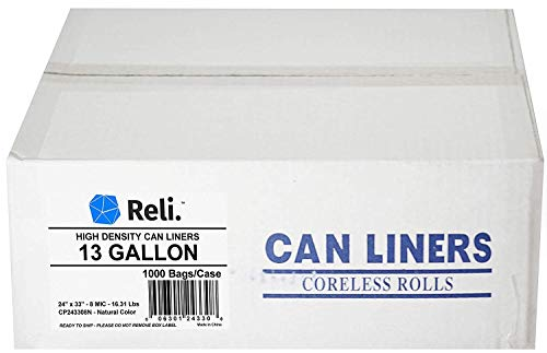 13 gallon commercial trash bags - 3