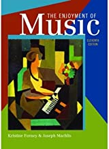 [(The Enjoyment of Music: An Introduction to Perceptive Listening)] [Author: Kristine Forney] published on (February, 2011)