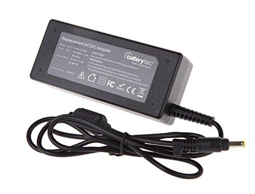 Batterytec® 65W 18.5V 3.5A Adaptador de Cargador para HP DV3 DV3000 dv3-1075ca dv5-1251nr dv4-2040us 608425-003 608425-005, con el Cable de alimentación estándar Europeo. [12 Meses de garantía]