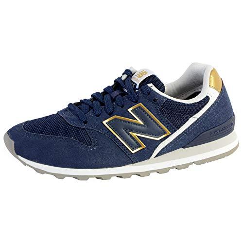 New Balance 996 Sneaker Femmes Blau/Gold - 38 - Sneaker Low