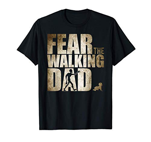 Uomo Fear the Walking Dad Nuovi regali per la prima festa del Maglietta