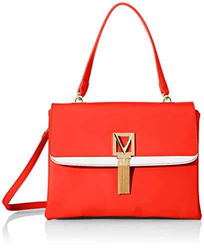 Mario Valentino dam Satiro handväska, 13 x 24,5 x 32 cm, Flerfärgad (Rosso/Bianco) - 13x24.5x32 cm (B x H x T)