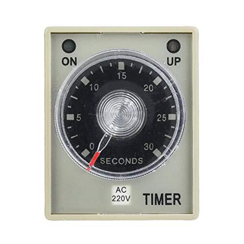 Relé de tiempo Perilla de ajuste de tiempo transparente Interruptor de temporizador...