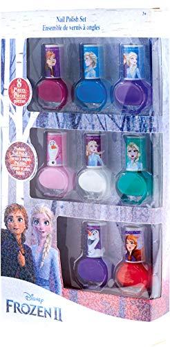 Lansay- Reine des neiges 2-Mon Set de 8 Vernis enchantés- 25148