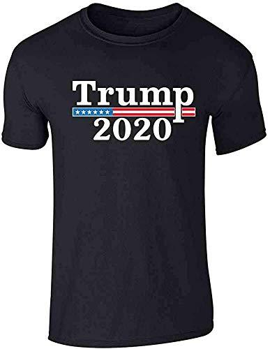 Nobranded Novedad Humor Graphic Trump 2020 Merchandise USA Graphic Tee T-Shirt para hombres Verano creativo Tops