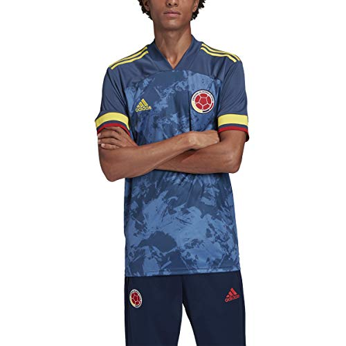 adidas 2020-21 Colombia Away Jersey - Navy XL