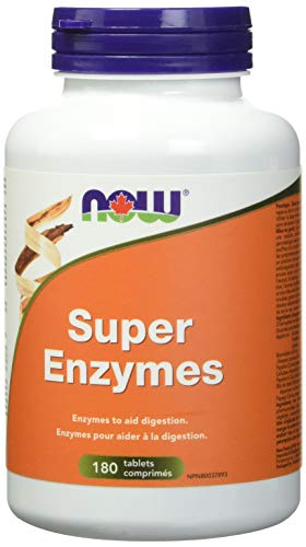 NOW Super Enzymes 180 Tablets, 180 g