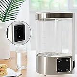 Generador de hidrógeno, 2 L, alcalina, con pantalla LED, función Smart Touch, para el hogar, ionizador de agua alcalina