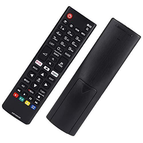 Sostitutivo Telecomando TV LG AKB75095308 Telecomando LG per LG Ultra HD LED LCD Smart TV - Nessuna Impostazione Necessaria