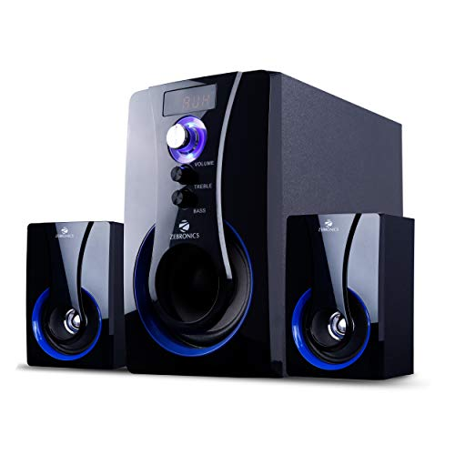Zebronics BT2490RUCF 2.1 Channel Multi Media Speaker (Black)