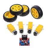 ULTECHNOVO DC Elektrische Motor Drive Controller Board Stepper Motor Control Modul Roboter Rad DC...