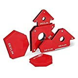 Package Contents: 1 unit each of Devlin Arrow & Multiangle Magnetic Clamp Clamps incorporate angled edges for accurate alignment Size: Devlin Arrow Magnetic Clamp: 120x80mm, Devlin Multiangle Magnetic Clamp: 100x65mm Ideal for welders and fabricators...