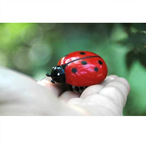 Daxoon Mini Insekt Spielzeug, Realistisch Zittern Kunststoff Insekten Kunststoff Spielzeug Käfer,Biene,Insekten und Wanzen realistische Figuren Spielzeug für Gag Toy Topfdekoration Kinder Spielzeug