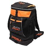 ZAOSU Triathlon- & Schwimm-Rucksack - Transition Bag | 45 Liter mit Nassfach für Schwimmbekleidung nach dem Wettkampf oder Training, Farbe:orange