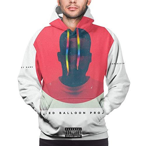 Skizzy Mars Men's Sweatshirts Autumn Winter Leisure Pullover Hoodies Black