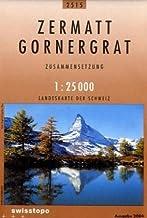 Zermatt-Gornegrat: Zusammensetzung (Landeskarte) by Swisstopo (1998-12-31)