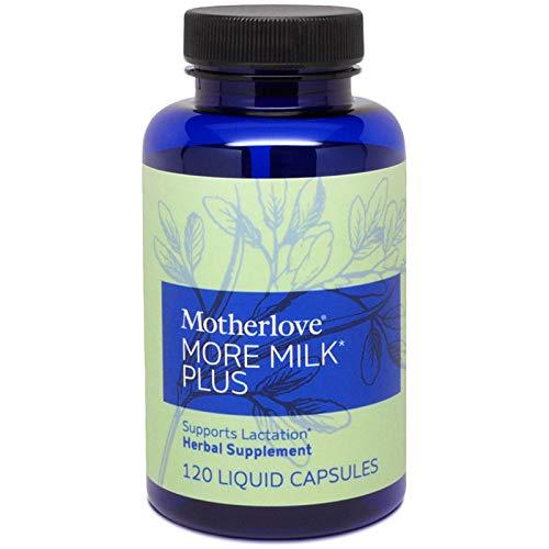 Motherlove More Milk Plus (120 ct.) Herbal Galactagogue Breastfeeding Supplement to Support Nursing & Pumping Moms' Milk Supply