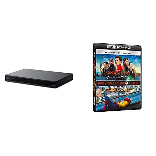 Sony UBP-X800M2 Lettore Blu-Ray 4K HDR + 4 Blu Ray Boxset Spider-Man