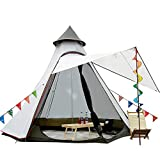 12'x10'x8'Dome Camping Tent 5-6 Person 4 Season Double Layers Waterproof Anti-UV Windproof Tents Family Outdoor Camping...