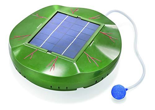 Schwimmender Solar Teichbelüfter Floating Air 120l/h Förderleistung Gartenteich Teichbelüftung 101875