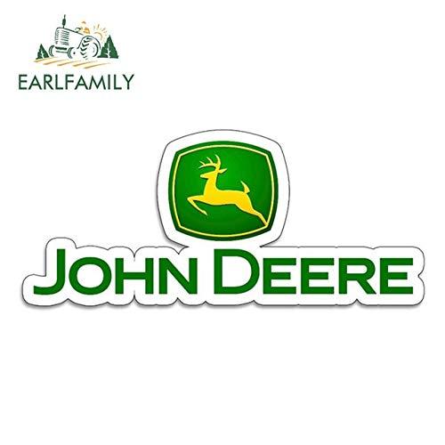 OLUYNG Sticker de Carro 13 cm x 5,6 cm Pegatinas de Vinilo para John Beere Tractor agrícola Gator Agricultura automóvil Motocicleta Coche Tuning Pegatinas Laterales calcomanía DivertidaEstilo A