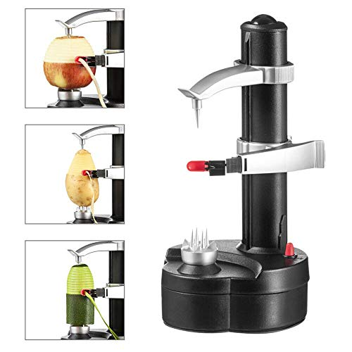 Automatic Electric Peeler,Kitchen Fruite Veg Fast-Peeling Machien Portable Peeler Fruit Orange Pear Veg Potato Pear Peeling Tool