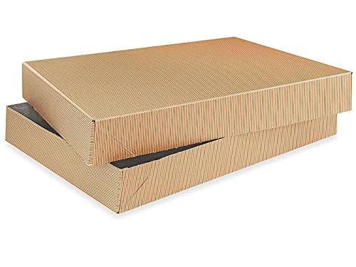 2-Piece Kraft Apparel Gift Boxes...
