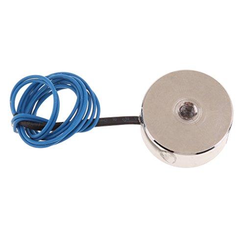 Mini Gleichstrom Elektromagnet mit Spule 12 V DC für Sortiermaschine, Mechanischer Arm - Gleichstrom 6V 50N