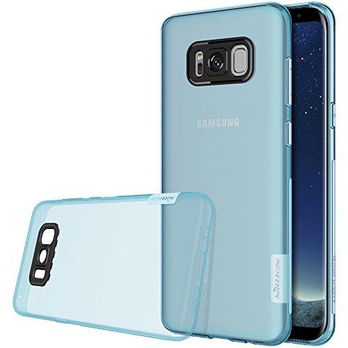 Nillkin Nature Custodia per Samsung Galaxy S8+, Blu