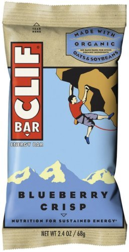 Clif Bar Energy Bar, Blueberry Crisp, 2.4-Ounce Bars, 12 Count (Pack of 2) by Clif Bar